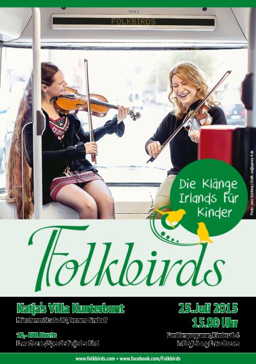 Folkbirds Konzert für Kinder