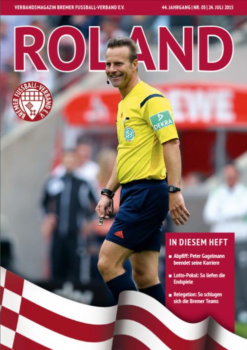 BFV – Aktuelle Roland erscheint am 24.07.15